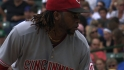 Cueto&#039;s 15th win