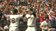 Pence's first homer with team sinks Rockies