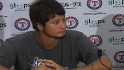 Darvish on pitching in the heat