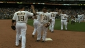 Pirates on win over Padres