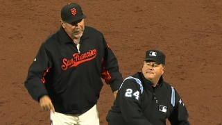 Bochy gets ejected
