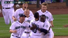 Mariners rally in ninth for walk-off win over Rays