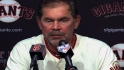 Bochy on Melky's suspension