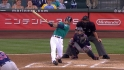 Jaso's two-run jack