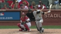 Mercer's RBI double