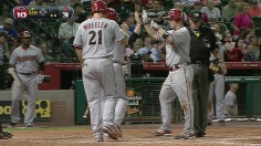 Nine-run fifth propels D-backs past Astros