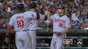 Davis' three-run homer