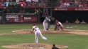 Pena's two-run home run