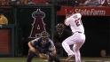 Trout flashes speed, power
