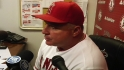 Scioscia on Wilson's rough start