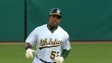 Cespedes powers the A's