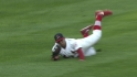 Jay&#039;s diving catch
