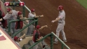 Rolen&#039;s RBI groundout