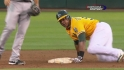 Cespedes swipes second