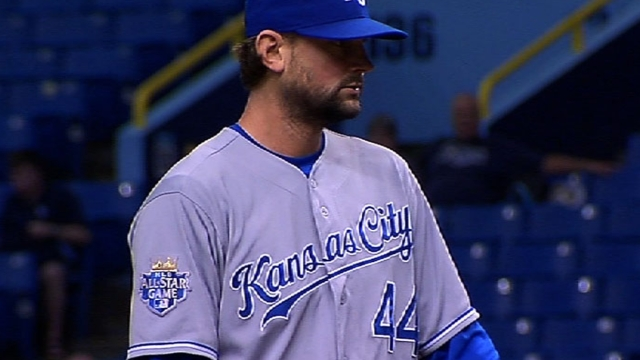 Hochevar only Royals player to file for arbitration