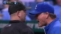 Hosmer, Yost dispute call