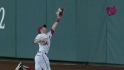 Harper&#039;s running catch