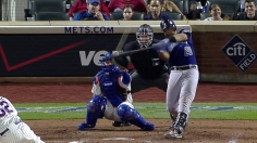 Rosario's late homer lifts Rockies over Mets