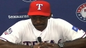 Washington on Beltre's big game