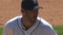 Verlander throws nine, fans 12