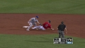 Pena throws out Ellsbury