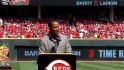 Reds retire Larkin's No. 11