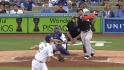 Stanton&#039;s solo home run