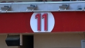 Larkin&#039;s No. 11 gets retired