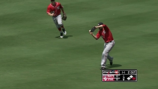 Werth makes a circus catch