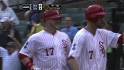 Flowers' two-run go-ahead homer