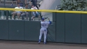 Kemp crashes into the wall