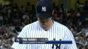 Hughes&#039; 500th career strikeout