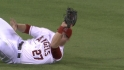 Trout's diving grab