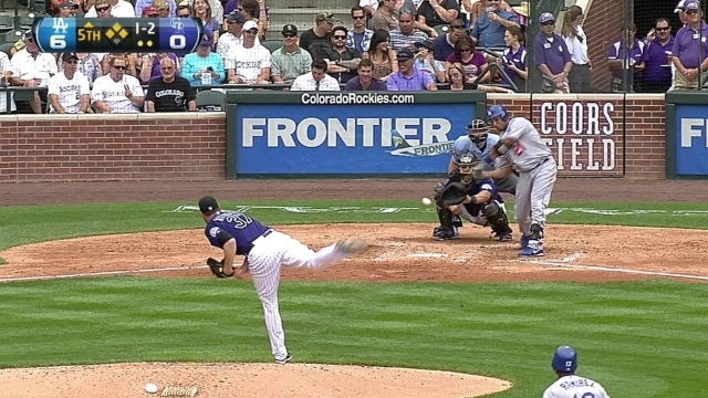 Ottavino at his first Rox opener as a player