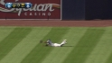 Bourn&#039;s diving catch