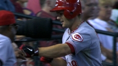 Reds first to 80 wins after sweeping D-backs