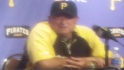 Hurdle on the Pirates&#039; staff