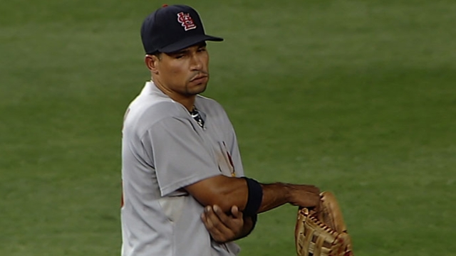 Elbow setback has Furcal's status uncertain