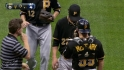 Karstens exits with injury