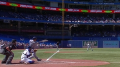 Joyce powers Rays past Blue Jays