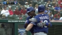 Profar's first career homer