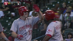 Reds break out with five-run eighth to top Astros