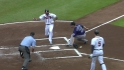 Bourn scores on wild pitch