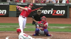 Cloyd flusters Reds to pick up first MLB win