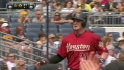 Downs' RBI groundout