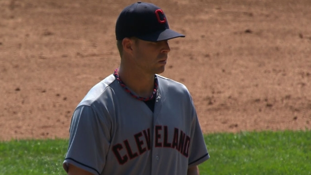 Indians option Carrasco, call up Kluber