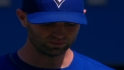 Happ strikes out nine