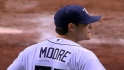 Moore's nine strikeouts