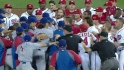 Benches clear at Nationals Park