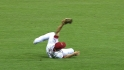 Heisey's diving catch